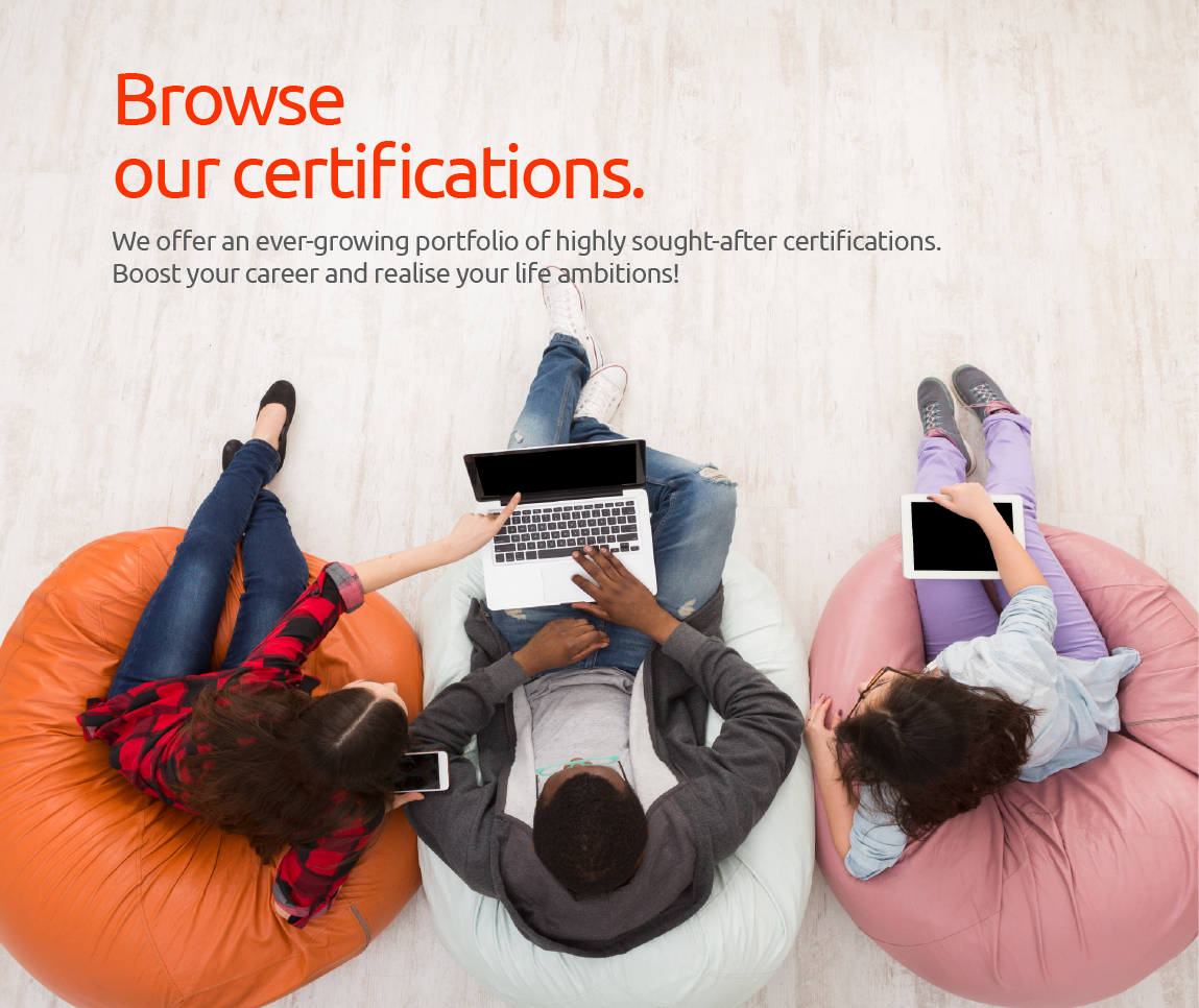 Browse our PeopleCert certifications banner 1